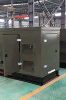 俄罗斯世界杯1000kW集装箱静音机组项目验收
