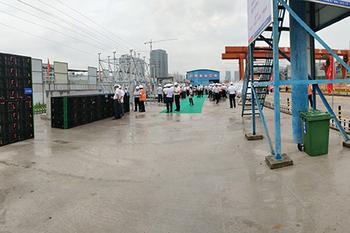 中铁广州工程局机组项目现场